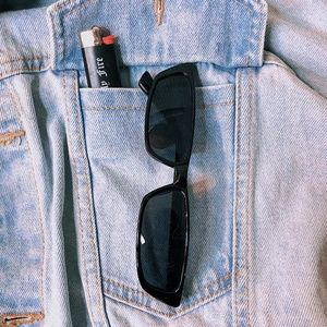 Accessories - 4/25 🌹 Black Narrow Sunglasses | Modern Matrix